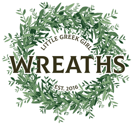 Little Greek Girl Wreaths